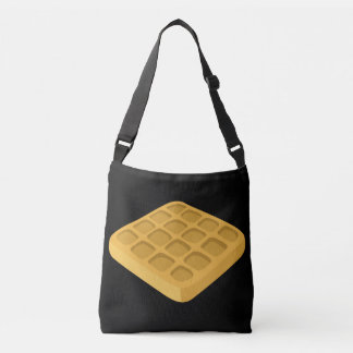 Glitch Food waffles Crossbody Bag