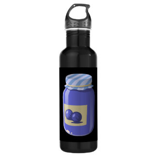 Glitch Food whortleberry jelly 710 Ml Water Bottle
