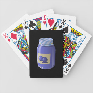 Glitch Food whortleberry jelly Bicycle Playing Cards