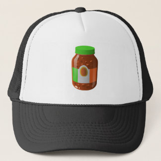 Glitch Food wicked bolognese sauce Trucker Hat