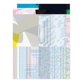 Glitch Number Nine Postcard
