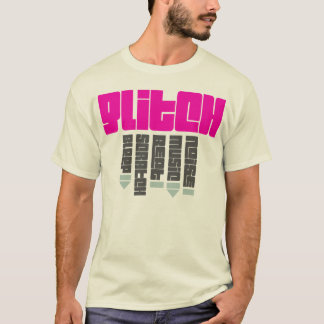 Glitch Pink - man, natural T-Shirt