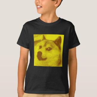 Glitched, pop art halftone design T-Shirt