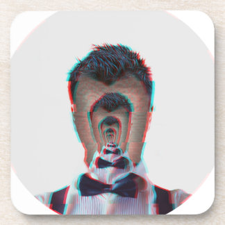 Glitchy Illusion Coaster