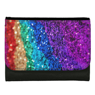 Glitter and sparkle wallet