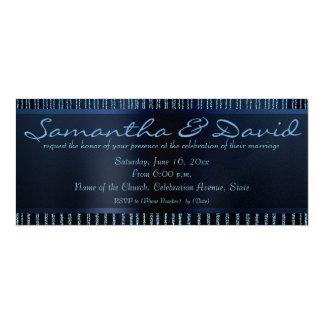 Glitter and Sparkles stylish Wedding invitation