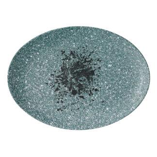 Glitter Ape Porcelain Serving Platter
