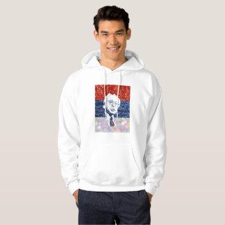 glitter bernie sanders hoodie mens sweatshirt