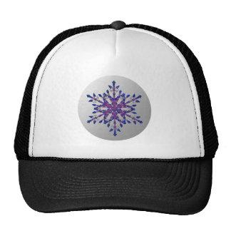 Glitter Blue Star Cap