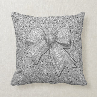 Glitter Bow La la land pillow. Cushion