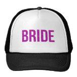 Glitter Bride Pink Cap