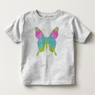 Glitter Butterfly Kids Top