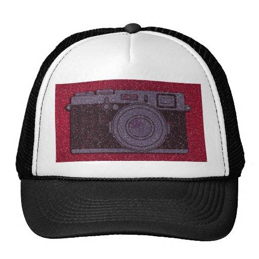 Glitter Camera Mesh Hat