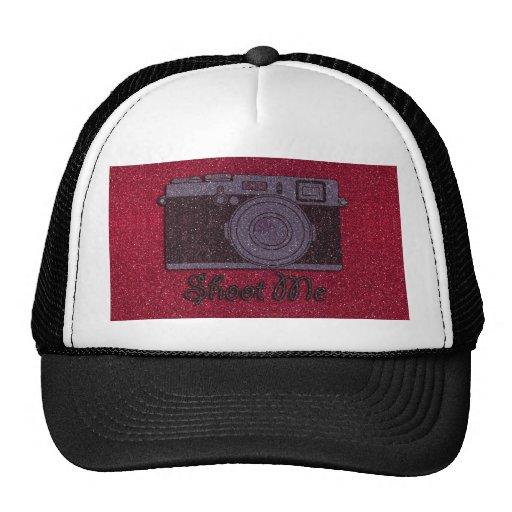 Glitter Camera Trucker Hat
