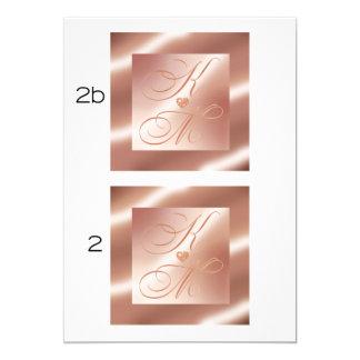 GLITTER CASCADE MONOGRAM CARD