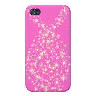 Glitter Christian Fish Symbol iPhone 4 Case
