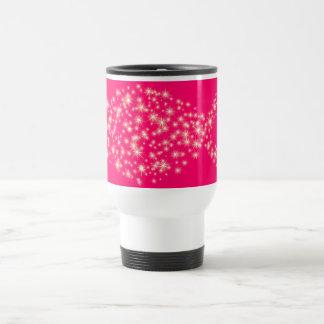 Glitter Christian Fish Symbol Coffee Mugs