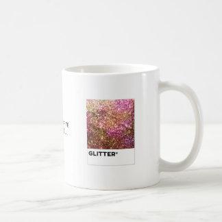 Glitter Color Chip Coffee Mug