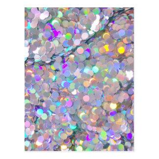 Glitter Confetti Sparkles Postcard