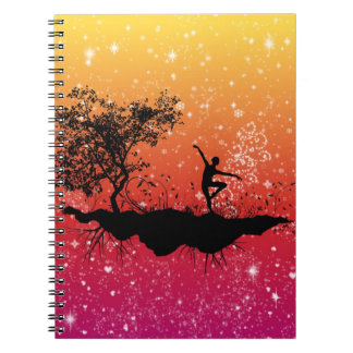 Glitter Dance Notebook