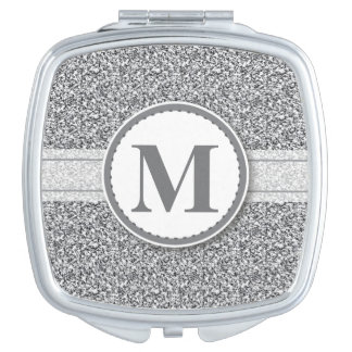 Glitter Design Compact Mirror Bridal Party Gift