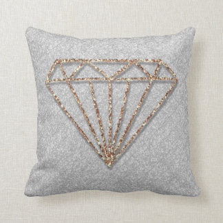 Glitter Diamond Throw Cushion