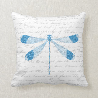 Glitter Dragonfly Cushion