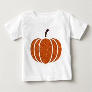 Glitter Filled In Pumpkin Products Baby T-Shirt