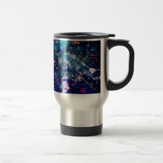 Glitter Galaxy Stainless Steel Mug