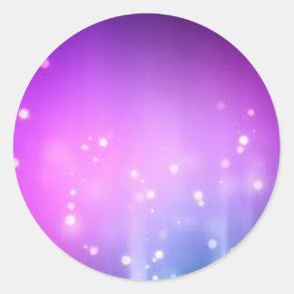 Glitter Glam Elegant Invitation RSVP Sparkle Art Stickers