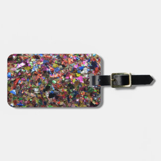 Glitter Glam Luggage Tag