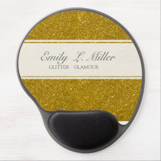 Glitter Glamour Gel Mouse Pad