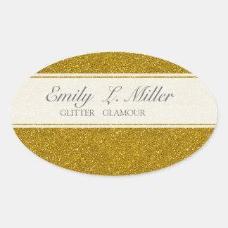 Glitter Glamour Sticker