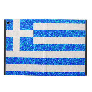 Glitter Greece flag ipad air case
