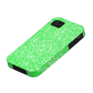 Glitter Green iPhone 4/4S Cover
