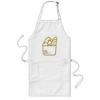 Glitter Groceries Long Apron