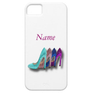 Glitter High Heel Shoes Fashion iPhone 5 case