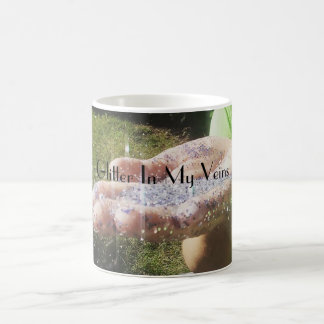 Glitter In My Veins Basic White Mug