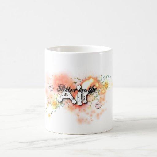 Glitter in the air mug