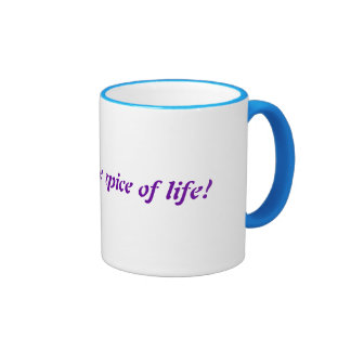 Glitter is the spice of life! coffee mugs