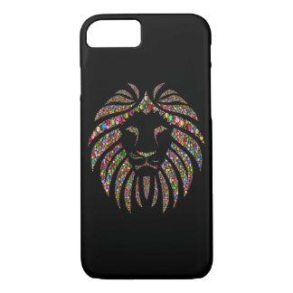 Glitter Lion iPhone 7 Case