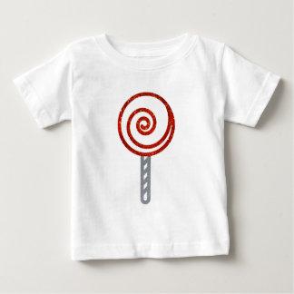 Glitter Lollipop Baby T-Shirt