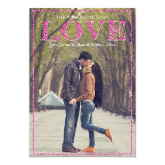 Glitter Love Valentine's Day Cards