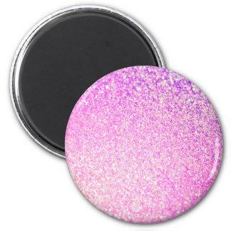 Glitter Luxury Shiny 6 Cm Round Magnet