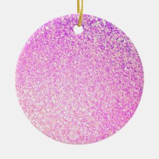 Glitter Luxury Shiny Round Ceramic Decoration