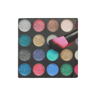 Glitter Makeup Stone Magnet