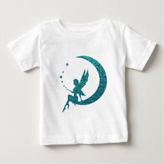 Glitter Moon Fairy Baby T-Shirt