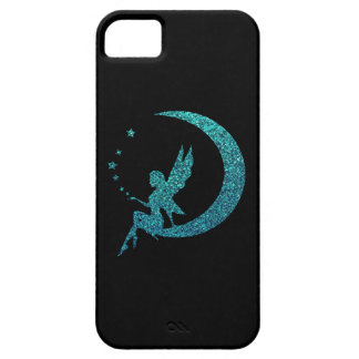 Glitter Moon Fairy iPhone 5 Cover