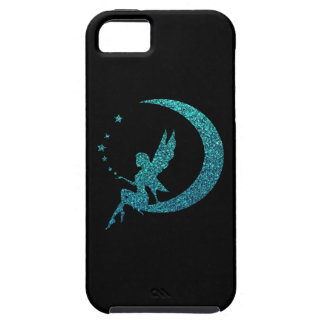 Glitter Moon Fairy Tough iPhone 5 Case