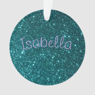 Glitter Named Ornaments